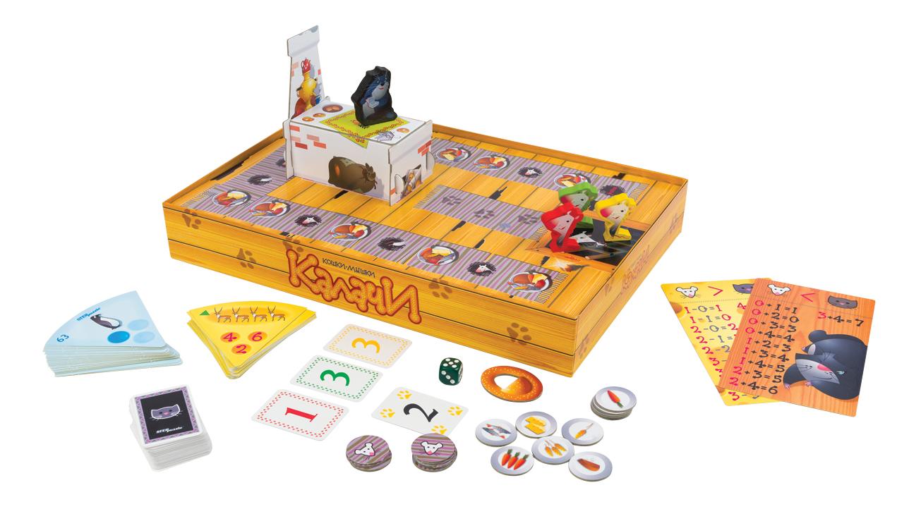 Семейная настольная игра STEP Puzzle Кошки-мышки. Калачи