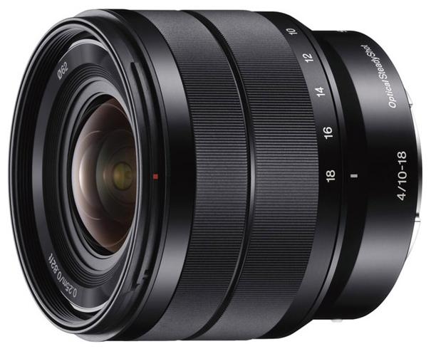 Объектив Sony E 10-18mm f/4.0 OSS