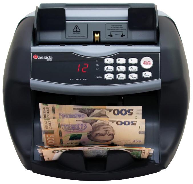 Счетчик банкнот Cassida Cassida 6650 UV