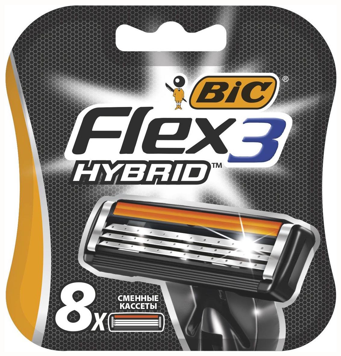 Сменное лезвие для станка Bic Flex 3 Hybrid