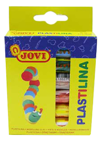 Пластилин Jovi 6 цветов 90/06