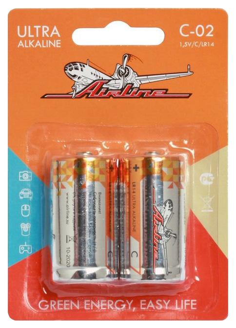 Батарейка Airline C-02 2шт