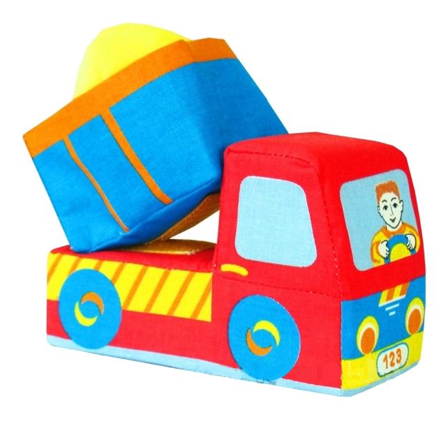 Купить Машинка-грузовичок, Игрушка-машинка Грузовичок Мякиши Р25721, Игрушечные машинки