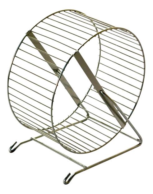 Беговое колесо для грызунов Дарэлл металл, 20 см