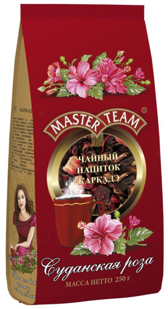 Напиток чайный Master Team каркаде суданская роза 250 г
