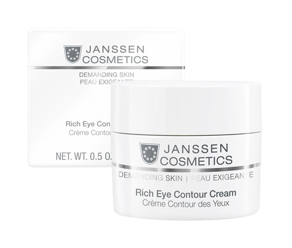 Крем для глаз Janssen Demanding skin Rich Eye Contour Cream 15 мл фото