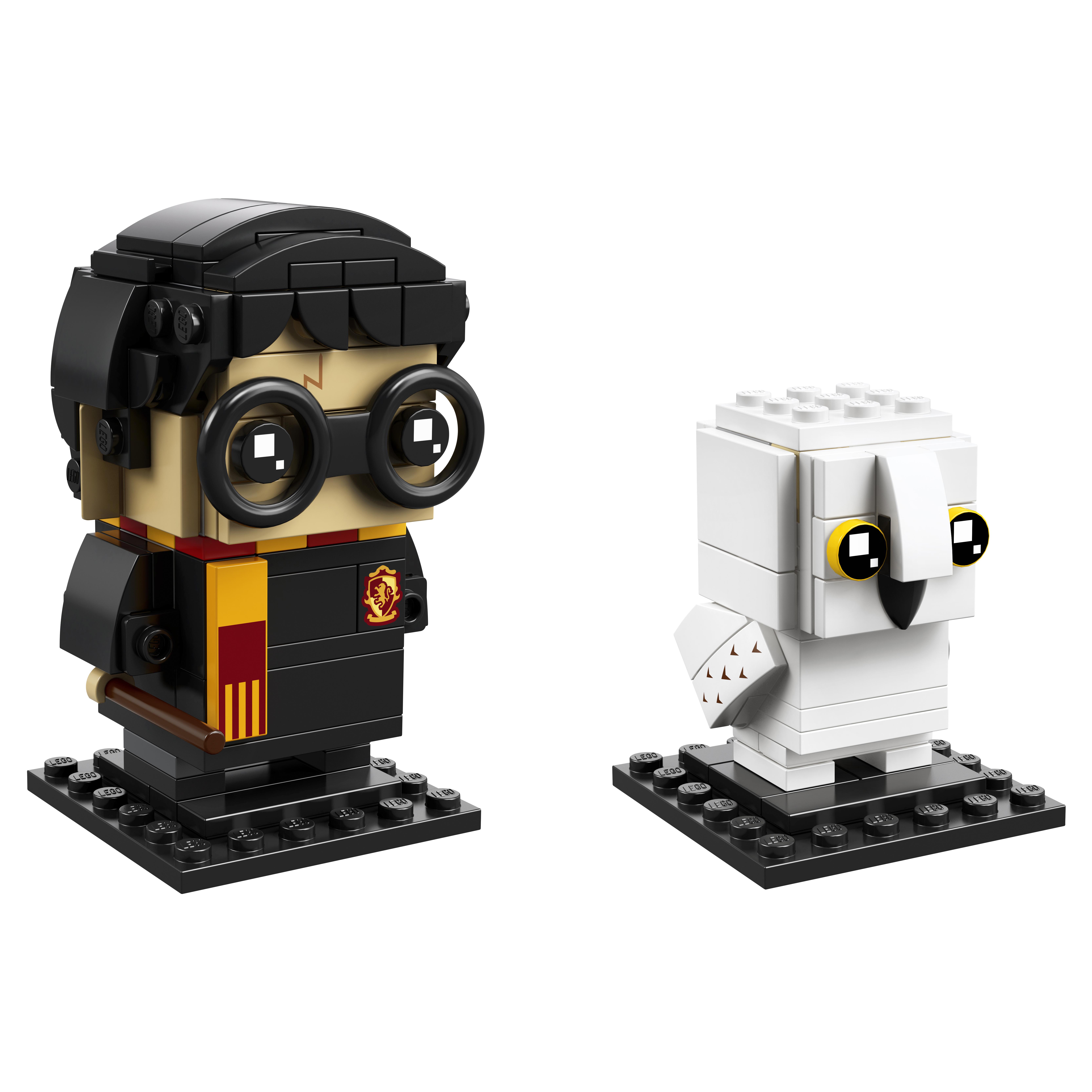 Купить Конструктор lego brickheadz гарри поттер и букля 41615, Конструктор LEGO BrickHeadz Гарри Поттер и Букля 41615, LEGO для девочек