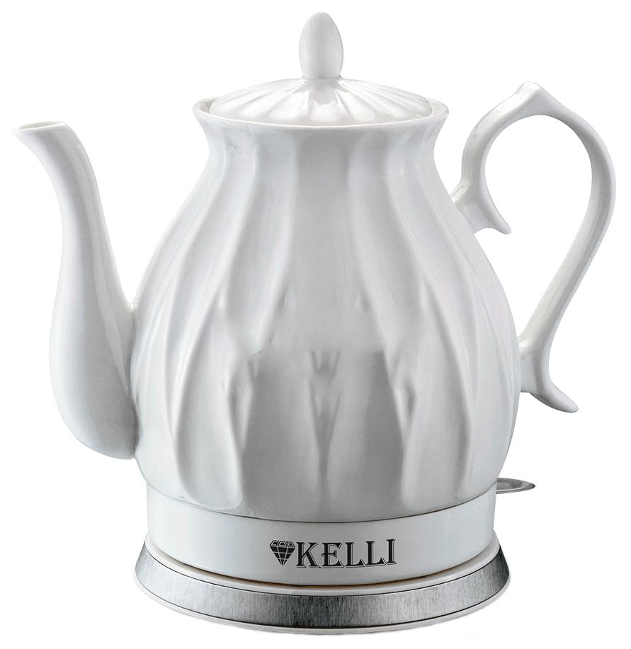 Чайник электрический Kelli KL 1341 White