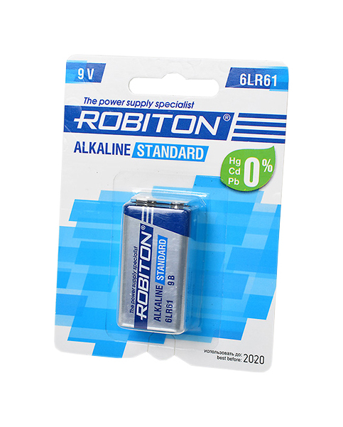 Батарейка Robiton 6LR61 617 286 1 шт