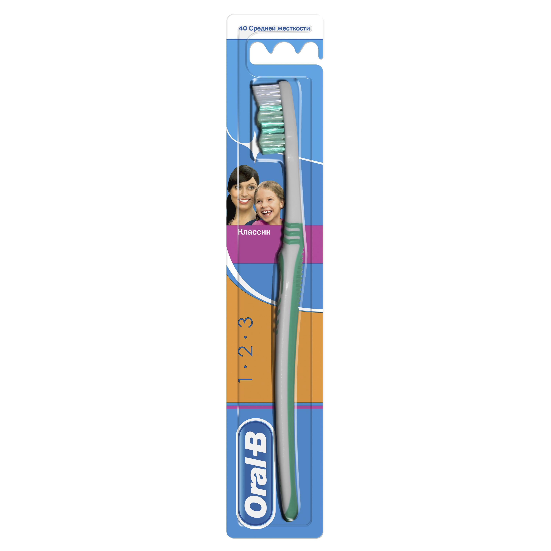 Зубная щетка Oral-B 3_Effect Classic 40 средняя 1 шт