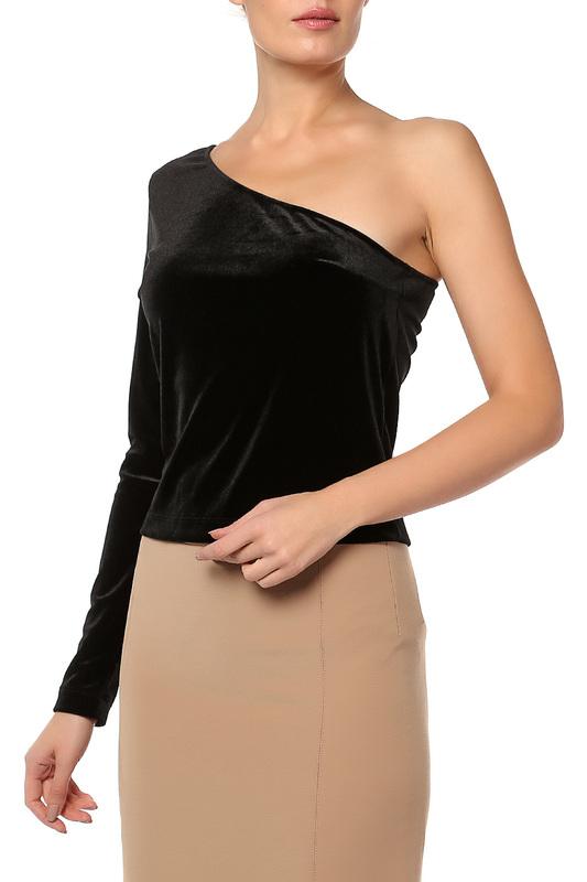 Блуза женская MANGO 51060370 ЧЕРНая черная S