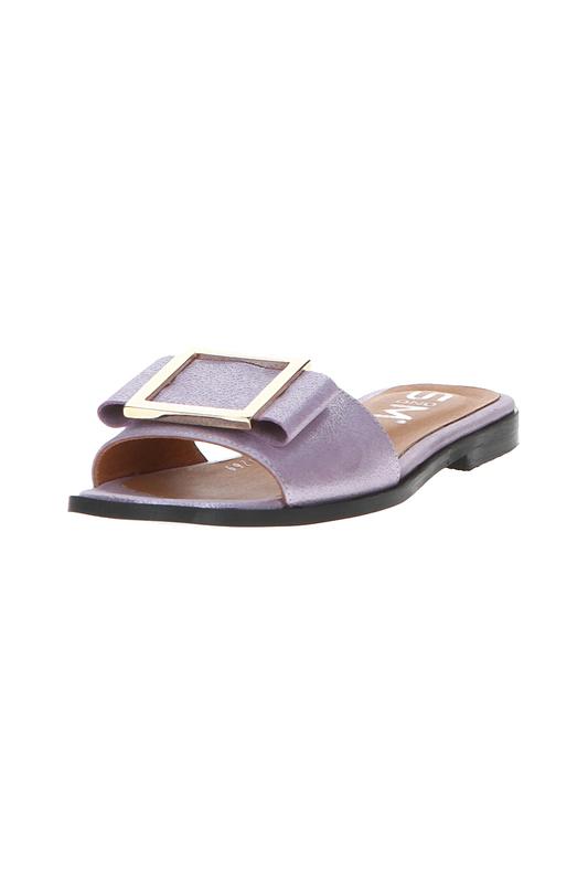 Шлепанцы женские Sandm 115-2017-15269 фиолетовые 36 RU