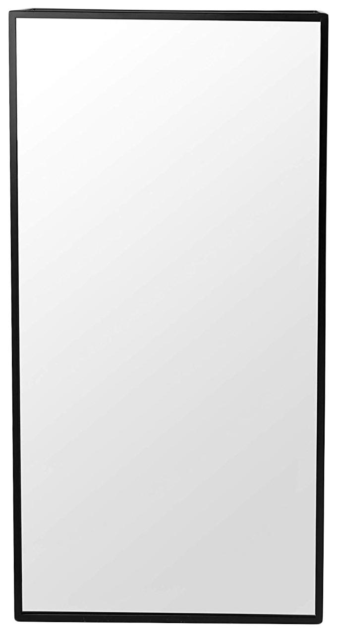 Настенное зеркало Cubiko чёрное