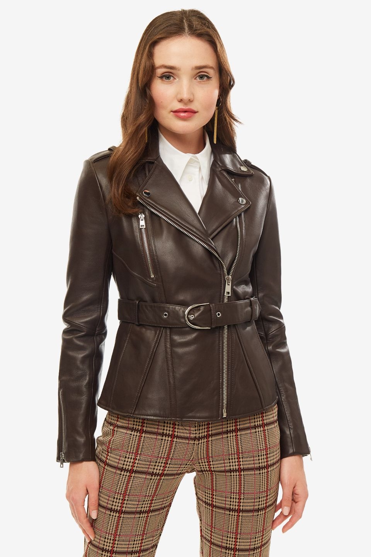 Куртка женская Pinko коричневая