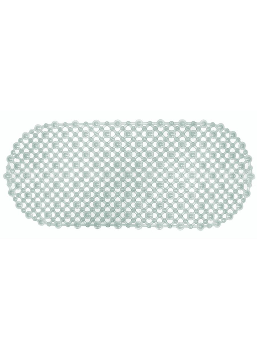 Коврик для ванны Кружевной 88х38 прозрачный