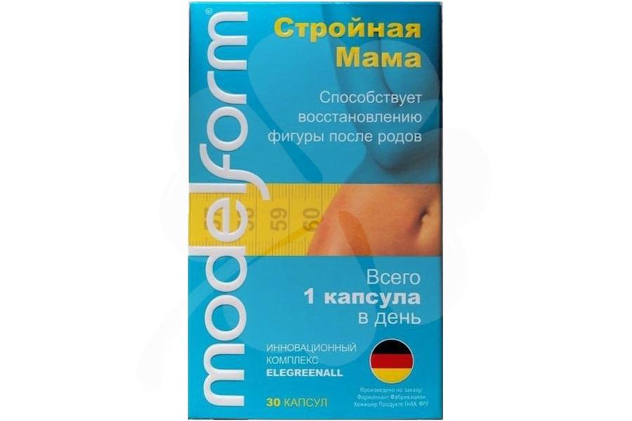 Modelform Стройная Мама 350 мг капсулы