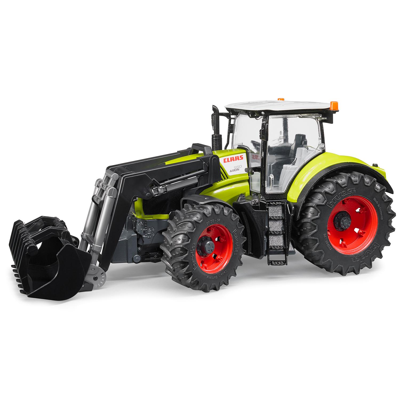 Трактор Bruder Claas Axion 950 c погрузчиком 03-013