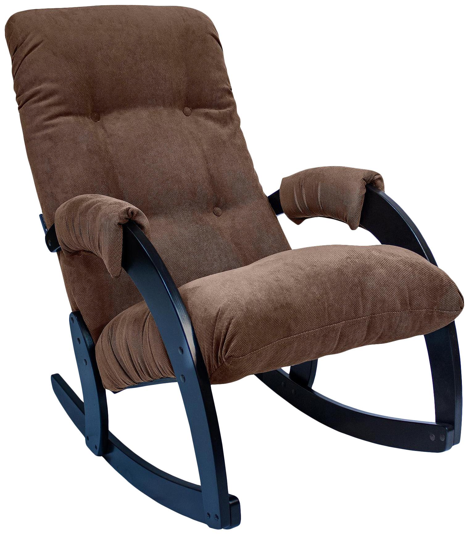 Кресло-качалка Комфорт Модель 67 KMT_2000000031293, коричневый