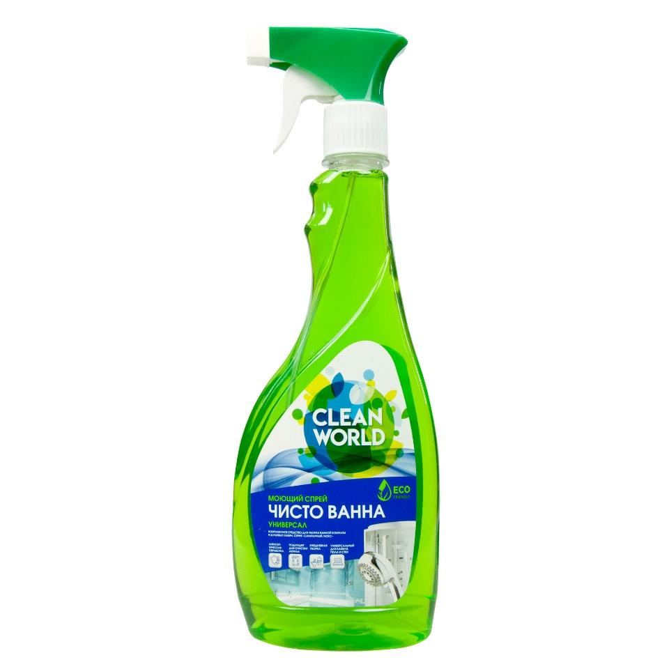 Универсальное средство для комплексной уборки ванных комнат