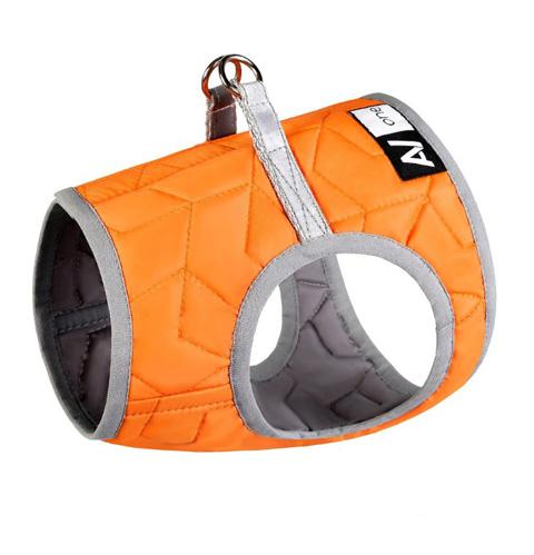 Шлейка для собак Collar AiryVest ONE, мягкая, оранжевая, S1
