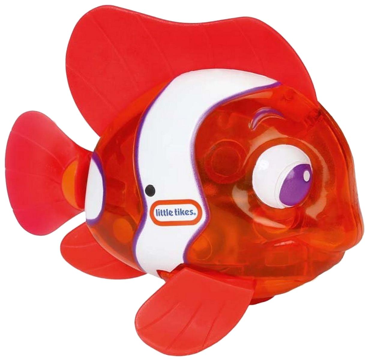 Купить Игрушка для ванны Рыбка Огонек - Рыба-клоун (свет) Little Tikes, Игрушки для купания