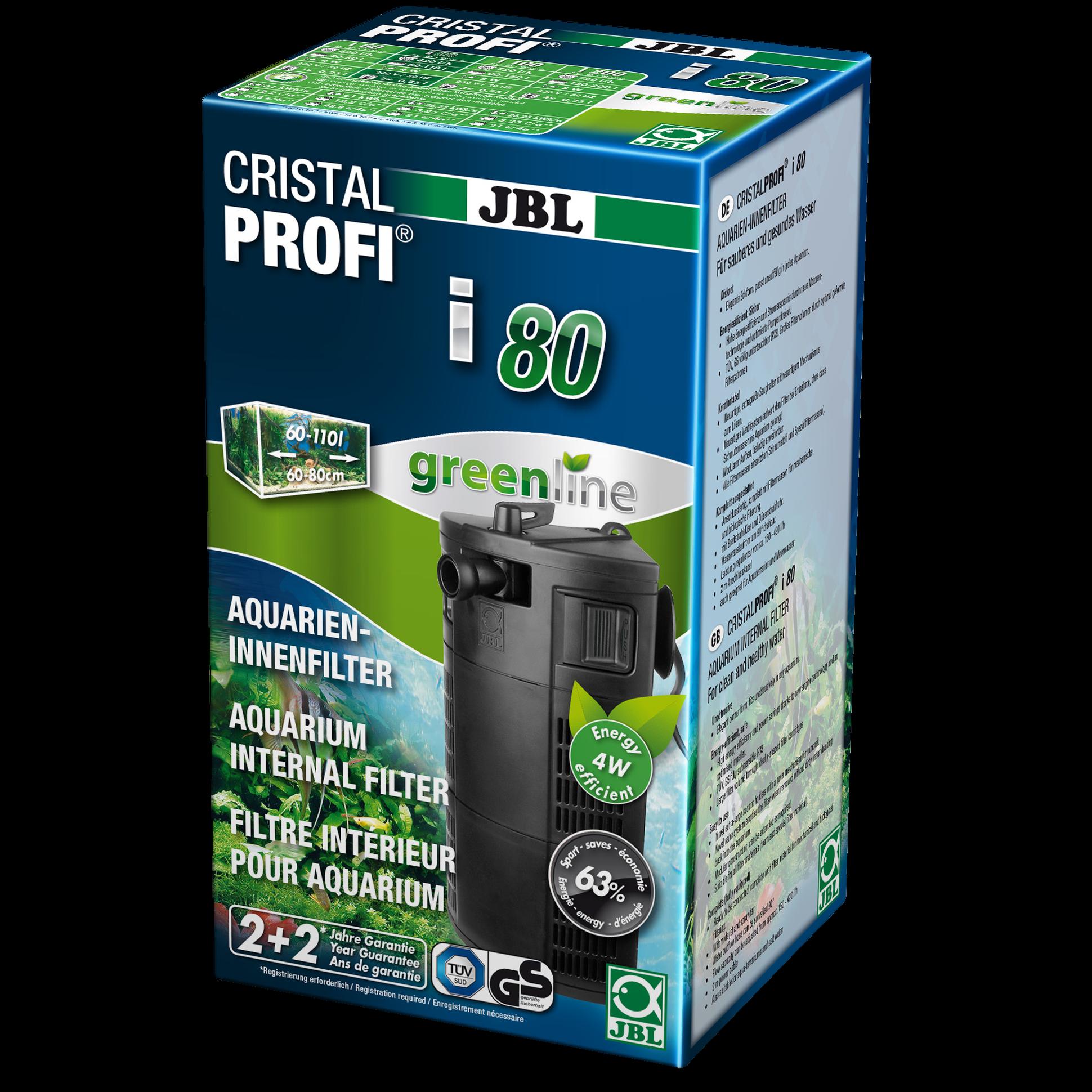 Фильтр для аквариума внутренний JBL CristalProfi i80,