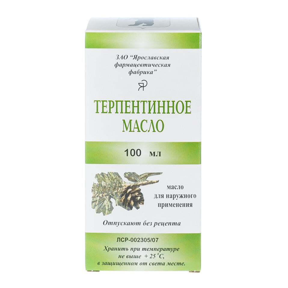 Терпентинное масло 100 мл