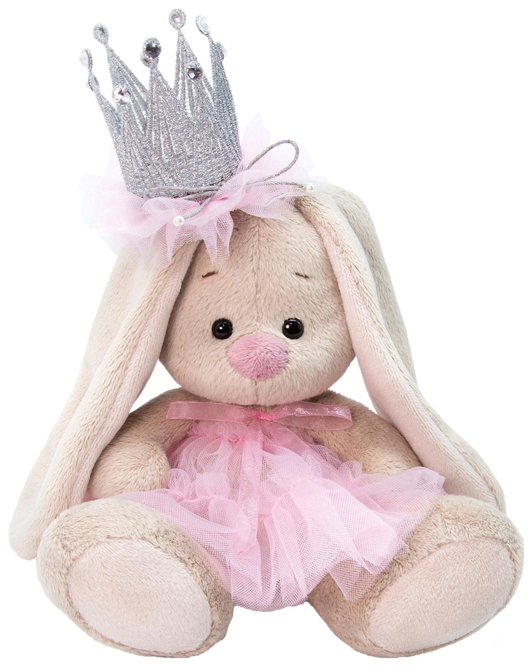 Купить Мягкая игрушка Budi Basa Зайка Ми с короной 15 см, Мягкие игрушки животные