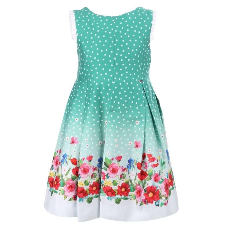 Купить Платье MAYORAL, цв. зеленый, 128 р-р, Детские платья и сарафаны
