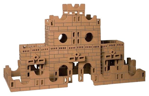 Конструктор Brickmaster 106 Усадьба 484 детали.