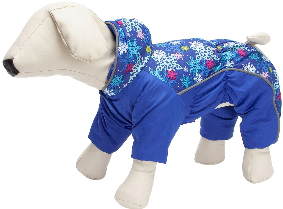 Комбинезон для собак OSSO Fashion, мужской, синий, 37