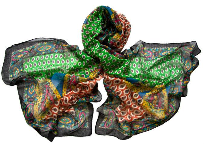 Палантин женский Tranini 230 разноцветный