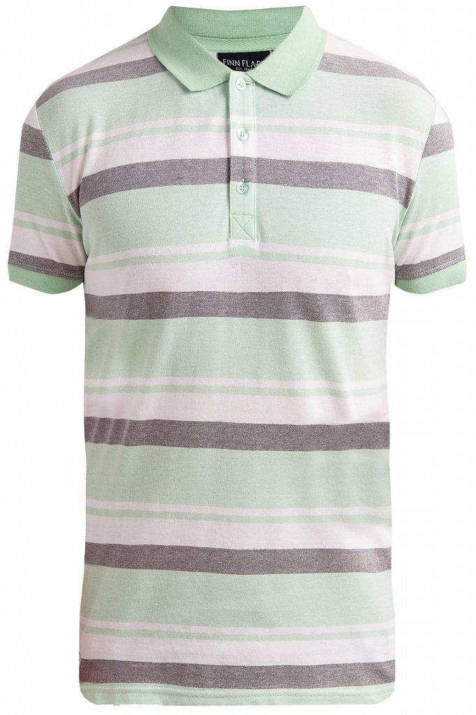 Купить KS19-81010, Футболка Поло для мальчика Finn Flare, цв. зеленый, р-р. 140, Детские футболки, топы