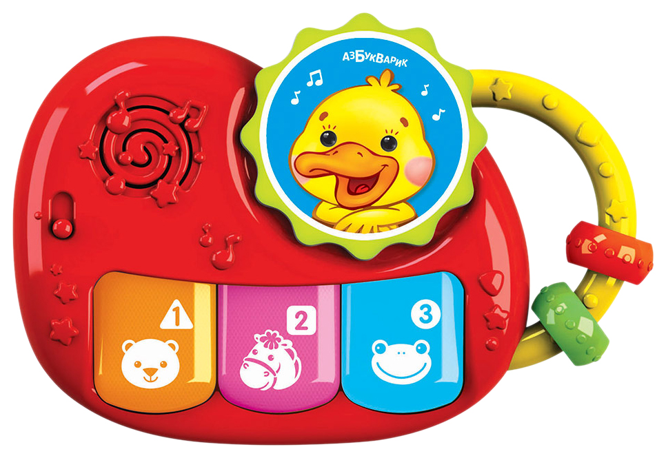 Интерактивная игрушка Азбукварик Пианино Чудесенка. Утенок