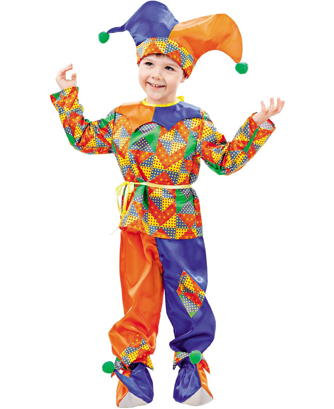 Купить 2002, Карнавальный костюм Батик Петрушка, цв. разноцветный р.122,