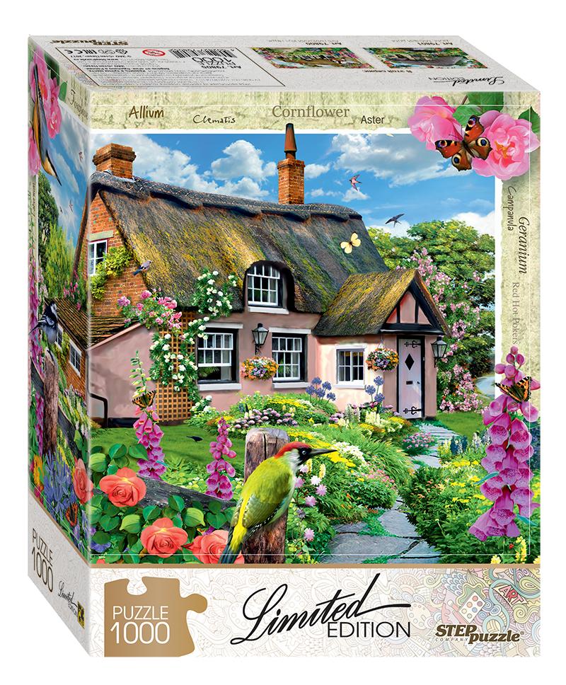 Пазл Step Puzzle 1000 деталей Розовый коттедж