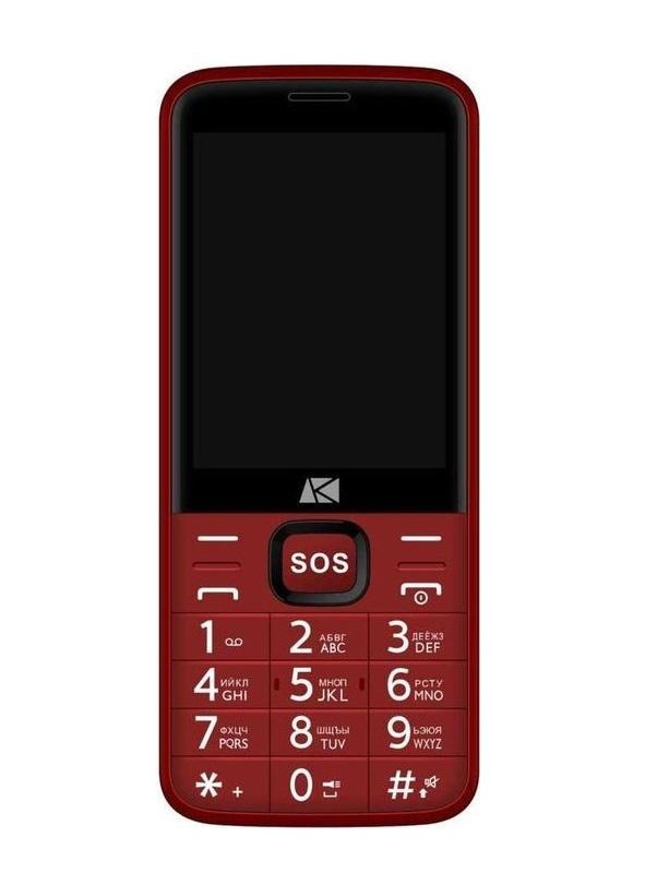 Мобильный телефон ARK POWER 4 Red (2 SIM)