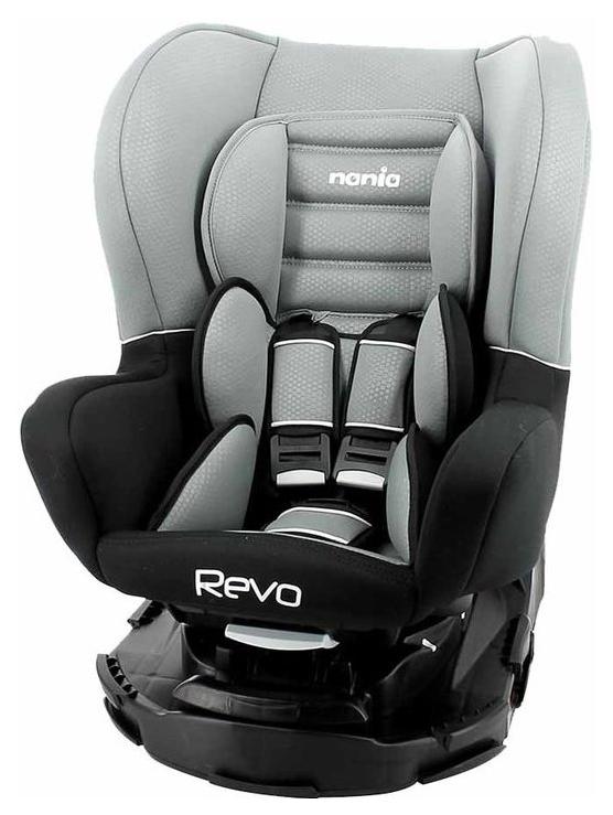 Автокресло Nania Revo luxe Серый, 0-25 кг