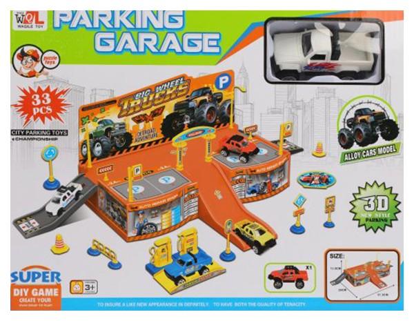 Паркинг, 33 предмета, арт. P668 38