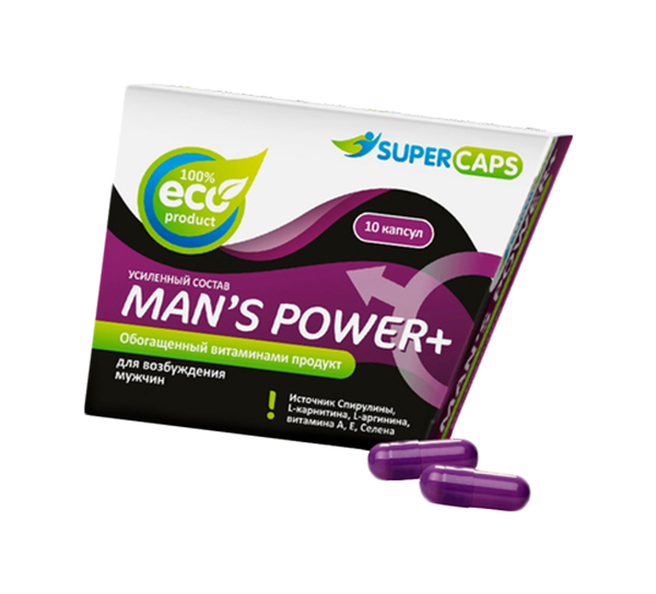 Man''s Power плюс возбуждающее средство для мужчин