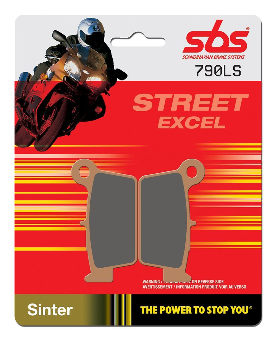Тормозные колодки задние SBS 790LS для мотоциклов