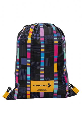 Пляжный рюкзак «Стробоскоп» с паттерном Студии Артемия Лебедева фото