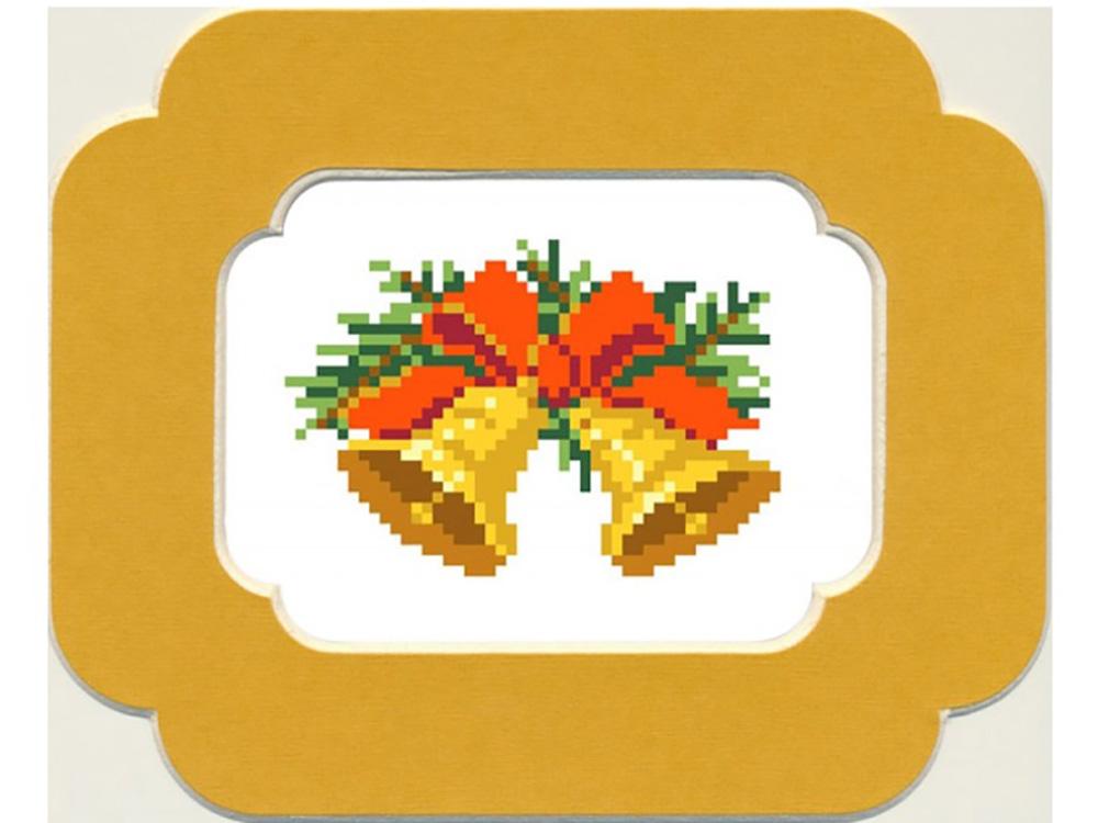 Набор вышивки бисером Матренин Посад Рождественские колокольчики фото