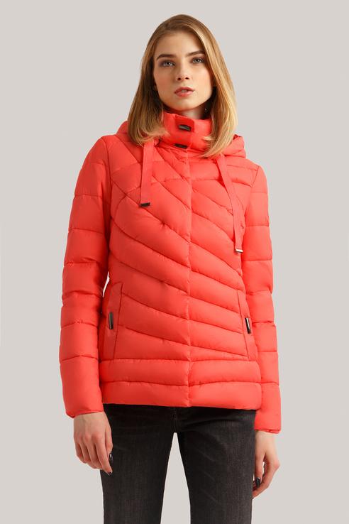 Куртка женская Finn Flare B19-12017 красная S фото