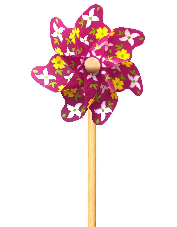 Ветрячок Цветы (31 см) ЯиГрушка 12227