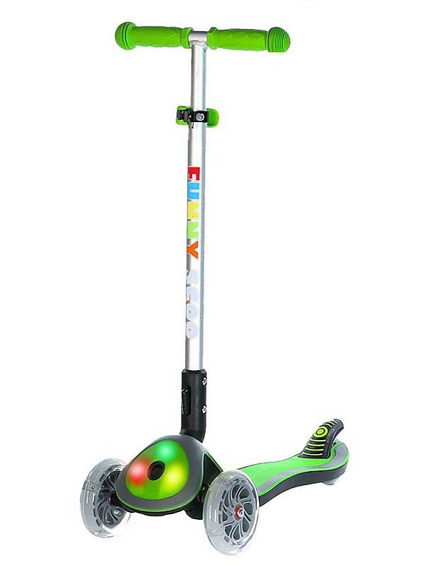 Самокат Funny Scoo Glow FL MS-945 зеленый