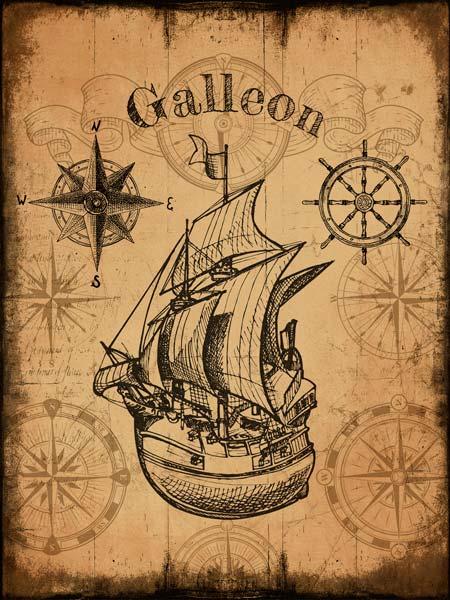 Картина на холсте 70x90 Galleon Ekoramka HE-101-446 по цене 1 490