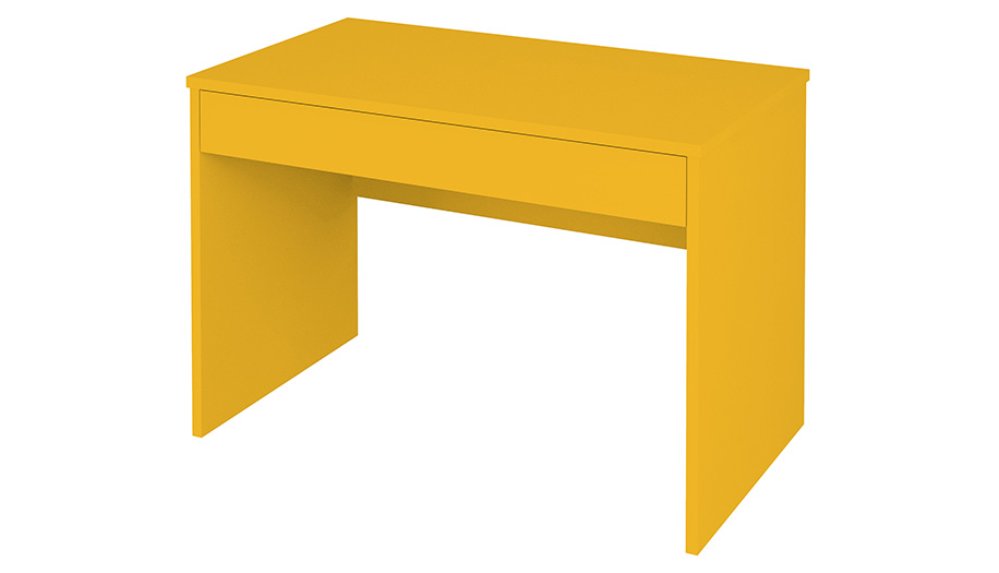 Детский стол письменный Polini kids City Urban, желтый