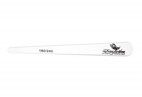 Пилка Dona Jerdona тонкая деревянная основа одноразовая 180/240, 100390