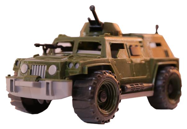 Купить Машинка пластиковая Toybola Джип военный TB-002, Игрушечные машинки